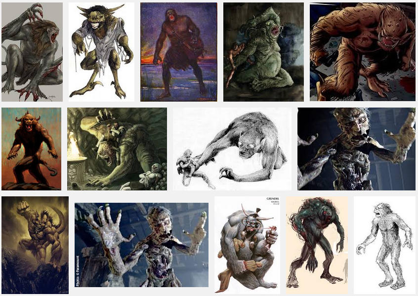 depictions of Grendel